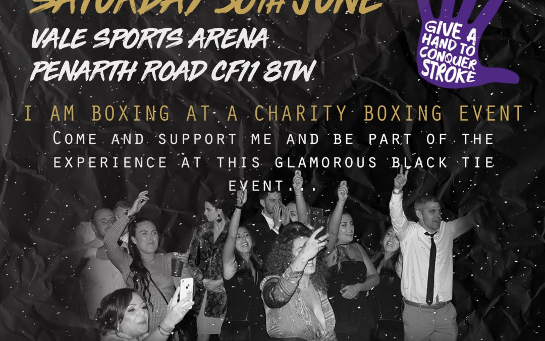Champions for Charity Season 2 2018- June Event Cardiff