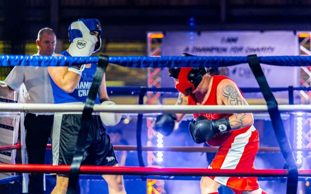 Champions For Charity – White Collar Boxing – Christmas Dust up 2019